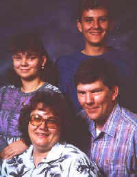 Larry Meeks and his lovely family